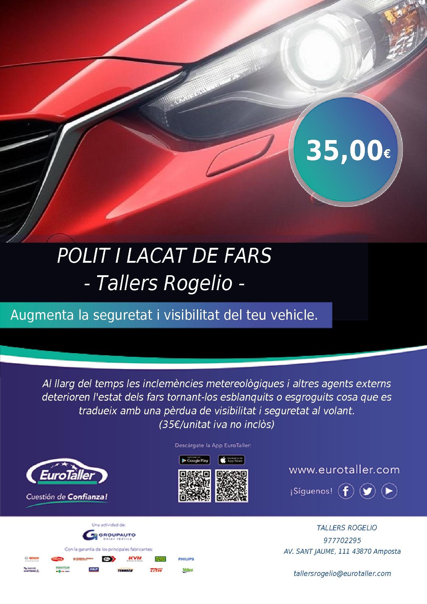 POLIT I LACAT DE FARS - Tallers Rogelio -